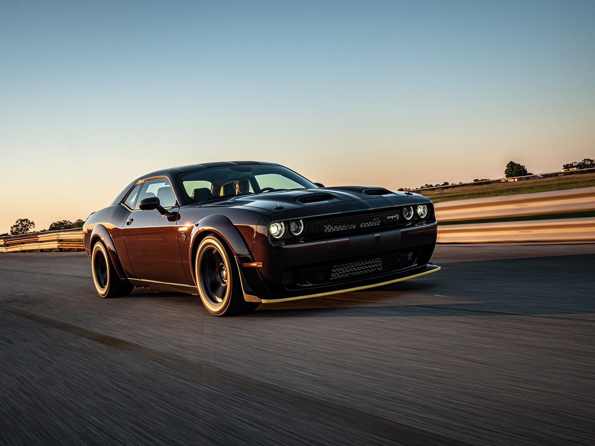 1000 HP Challenger Hellcat Super Stock By Hennessey