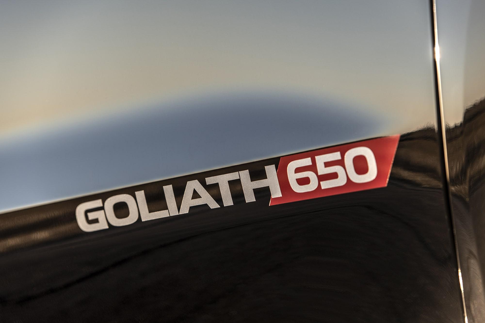 Hennessey GOLIATH 650 Silverado Supercharged Truck