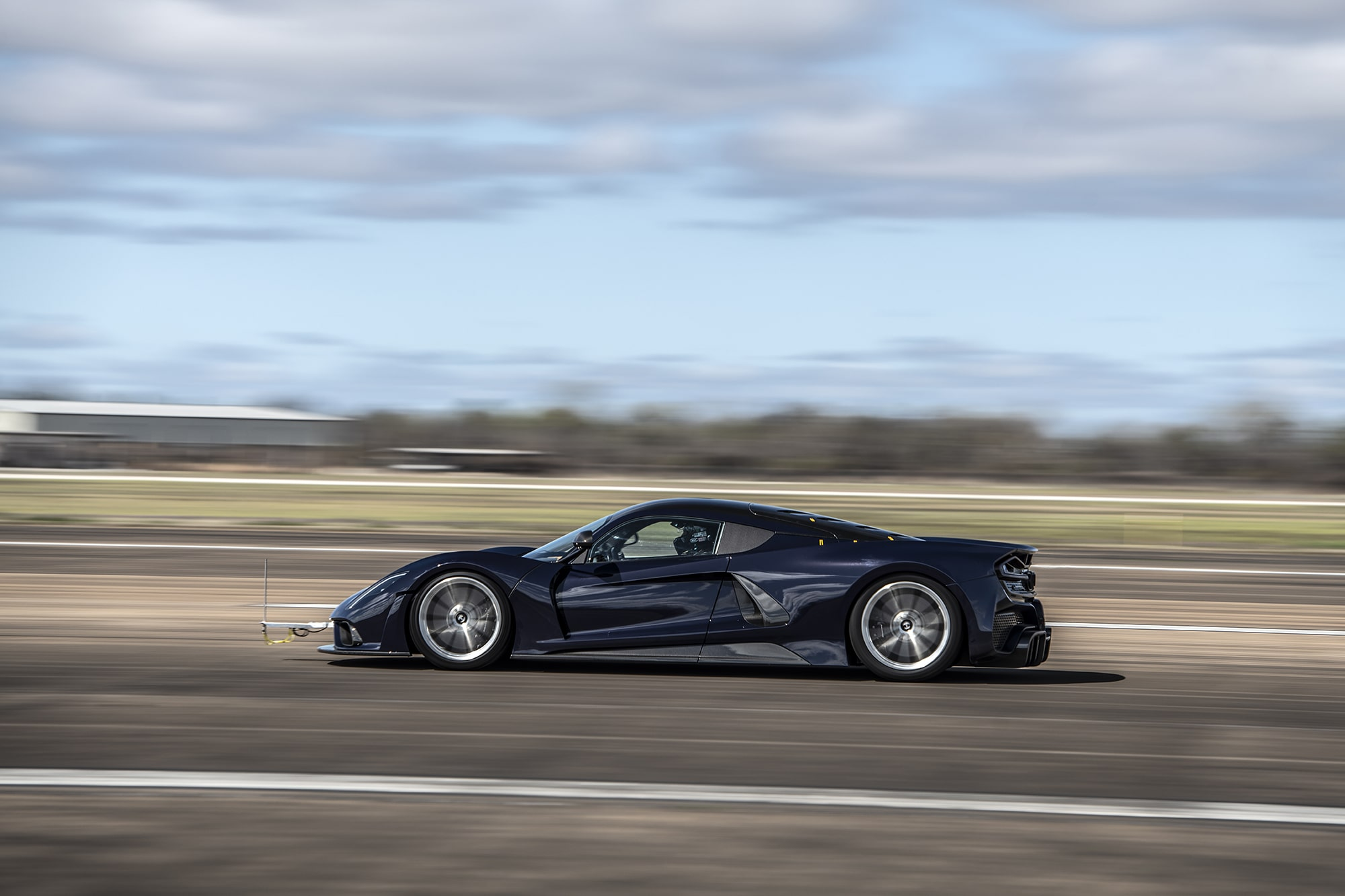 Hennessey Venom F5 Completes First Round of Aerodynamic Testing